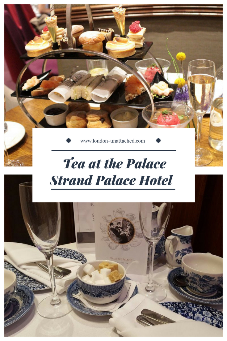 Afternoon Tea - Strand Palace Hotel, London