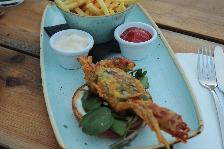 Alexander Pope, Crab burger