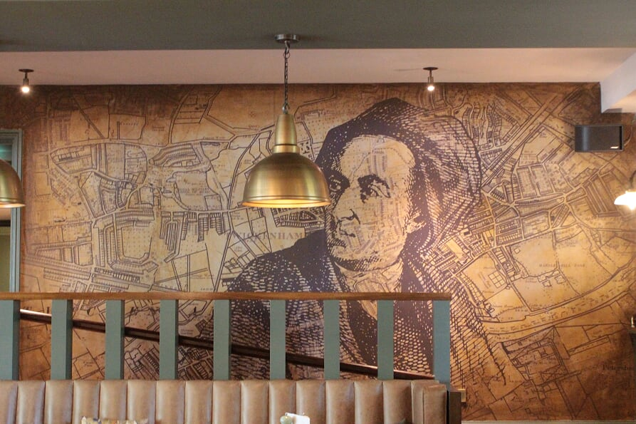Alexander Pope Pub and Hotel Twickenham, Interior