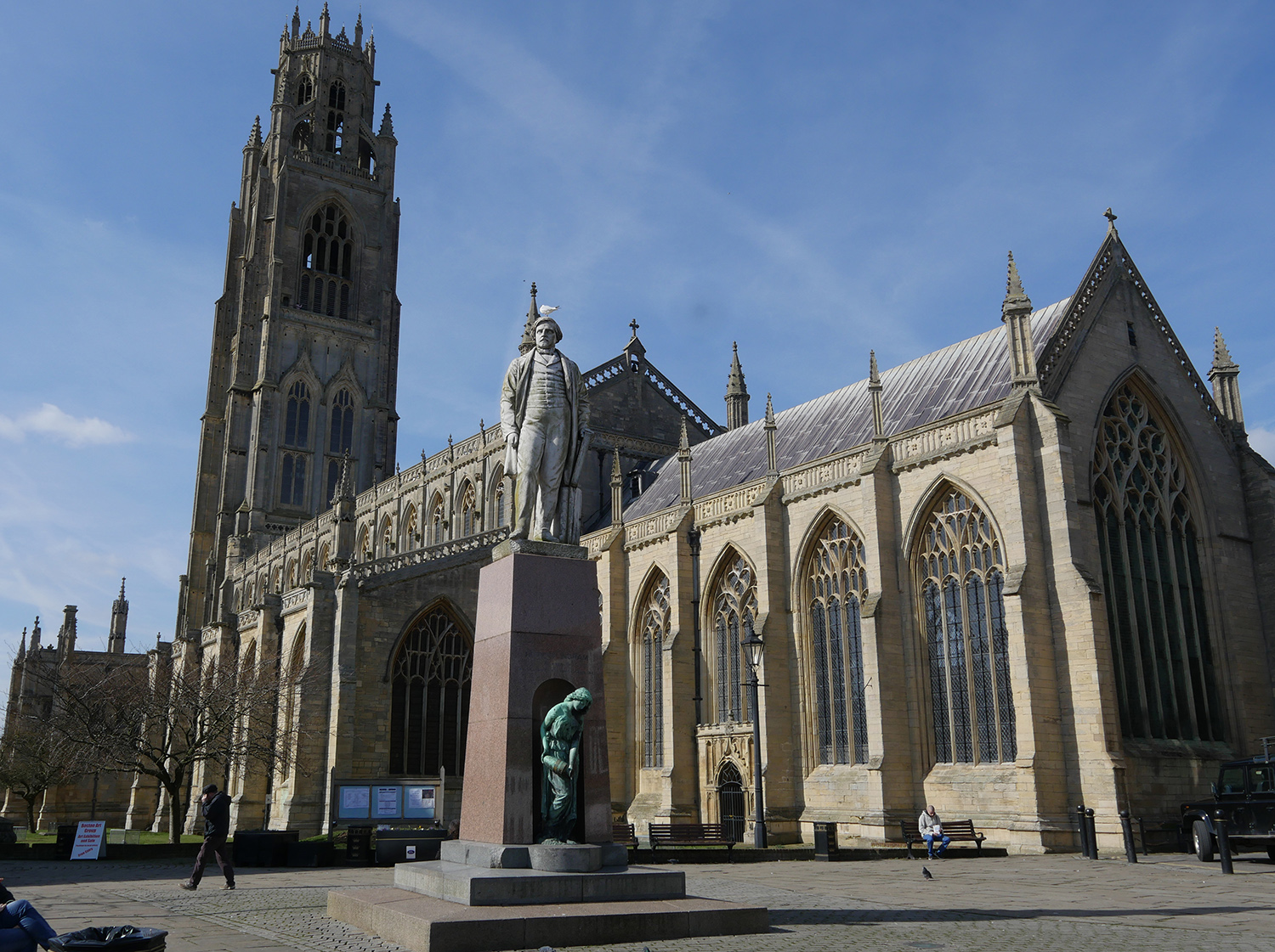 Boston Lincolnshire Church - Mayflower Connections