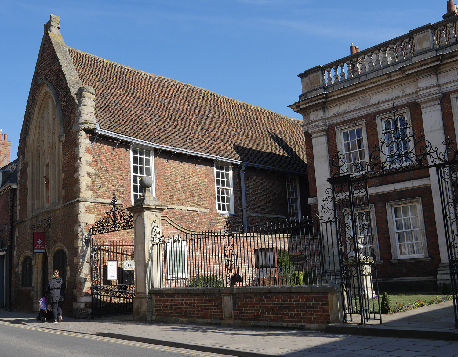 Exterior Guildhall Boston Lincolnshire - Mayflower Story