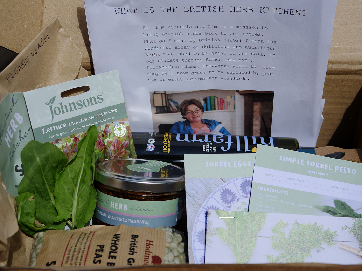 British Herb Kitchen Content