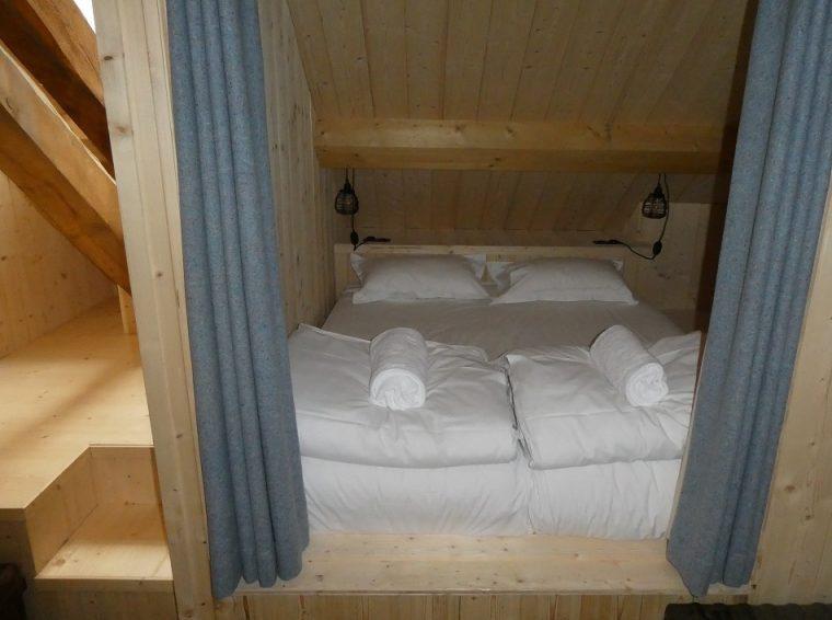 Bunk room Refuge de Montenvers Chamonix France