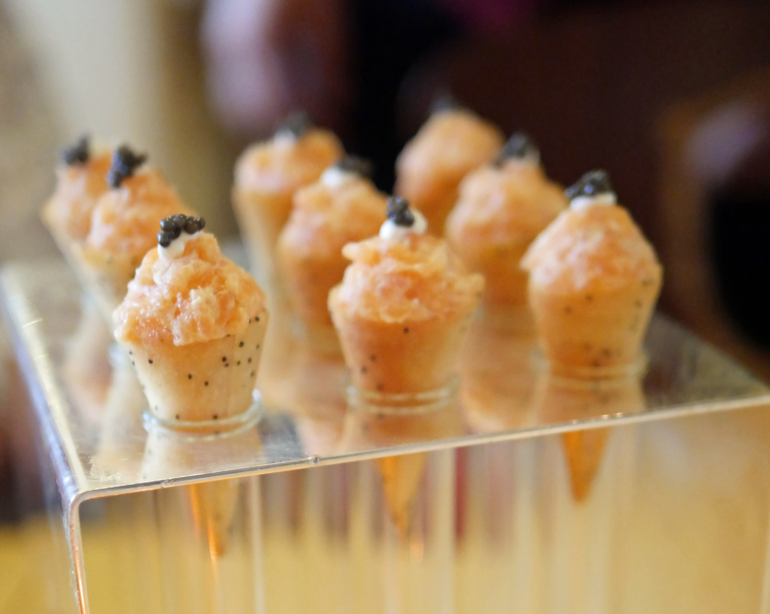 Canapes The Ritz London William Deutz