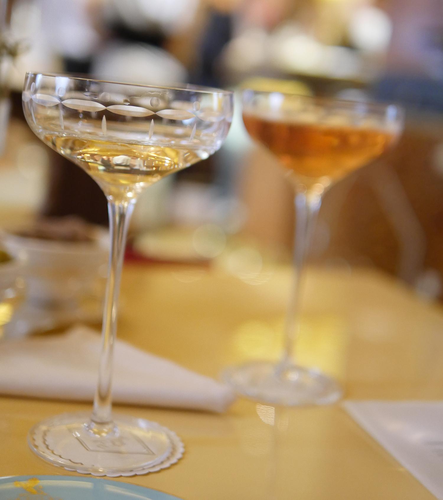 Champagne Deutz at the Ritz