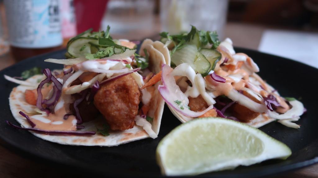 Wahaca Cod Baja Tacos