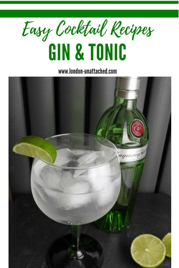 Gin and Tonic - Cocktail Recipe
