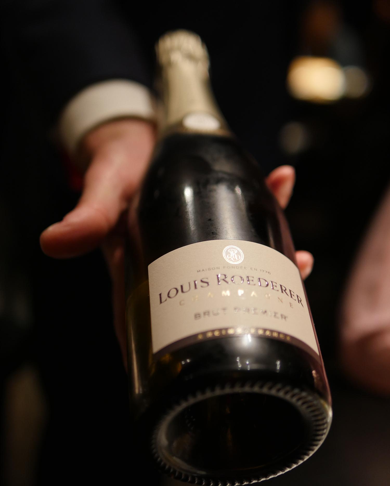 Hakkasan Dim Sum Sunday - Louis Roederer Champagne