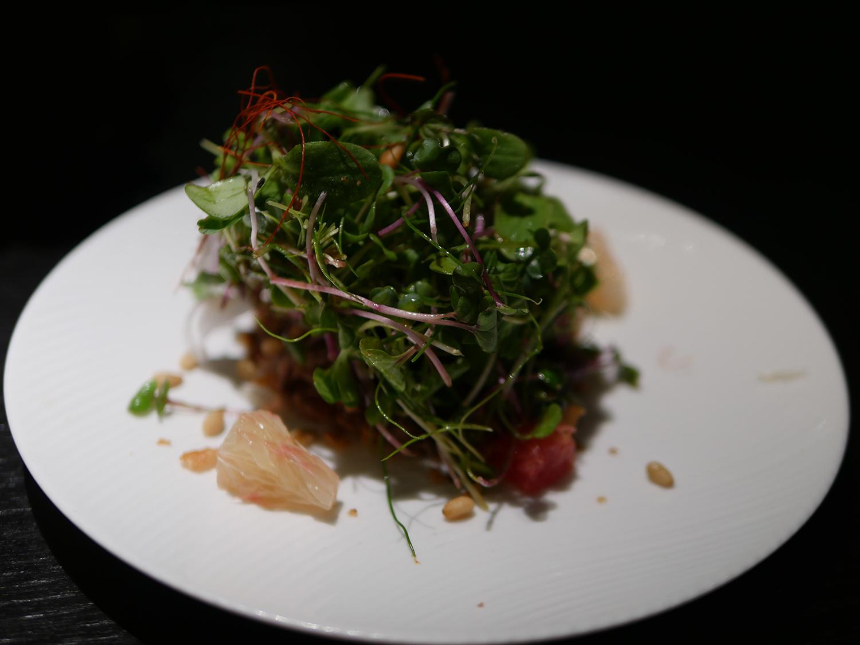 Hakkasan Dim Sum Sunday - duck salad