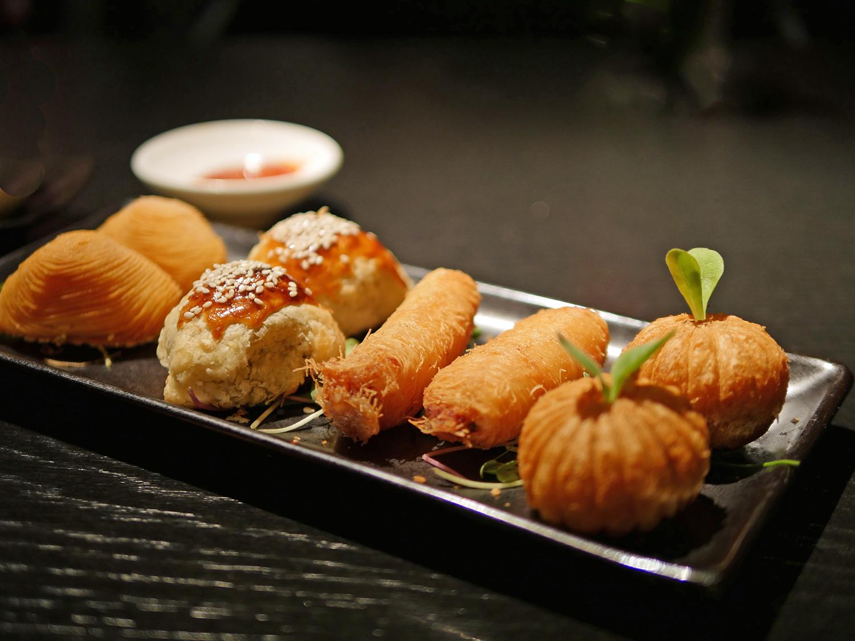 Hakkasan Dim Sum Sunday - fried Dim Sum
