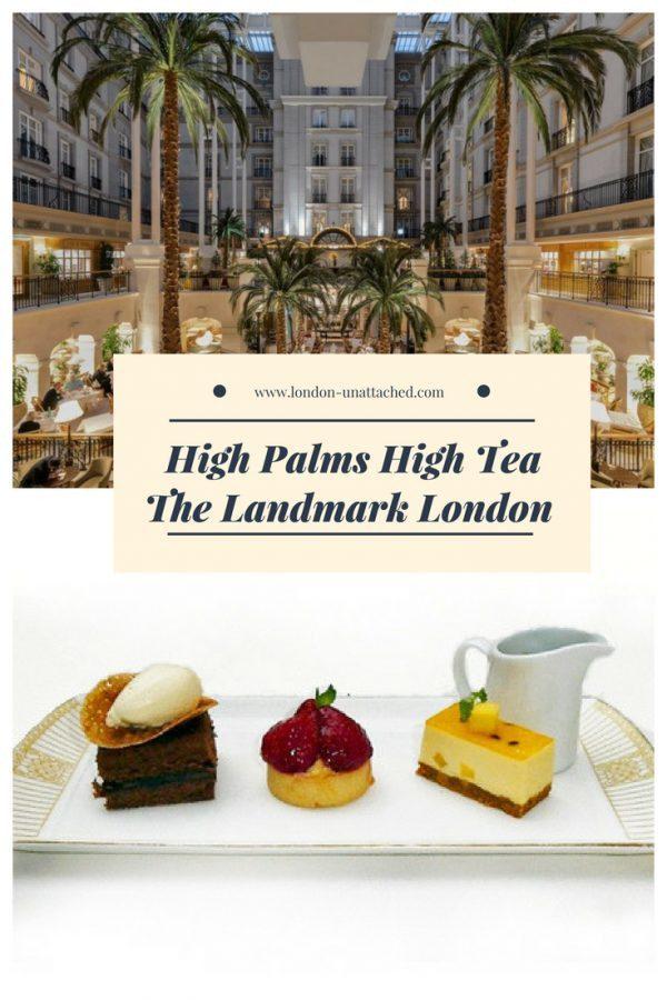 High Tea Landmark Hotel London
