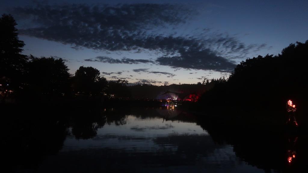 Latitude Festival Sunset