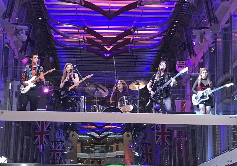 Independence of the Seas Band