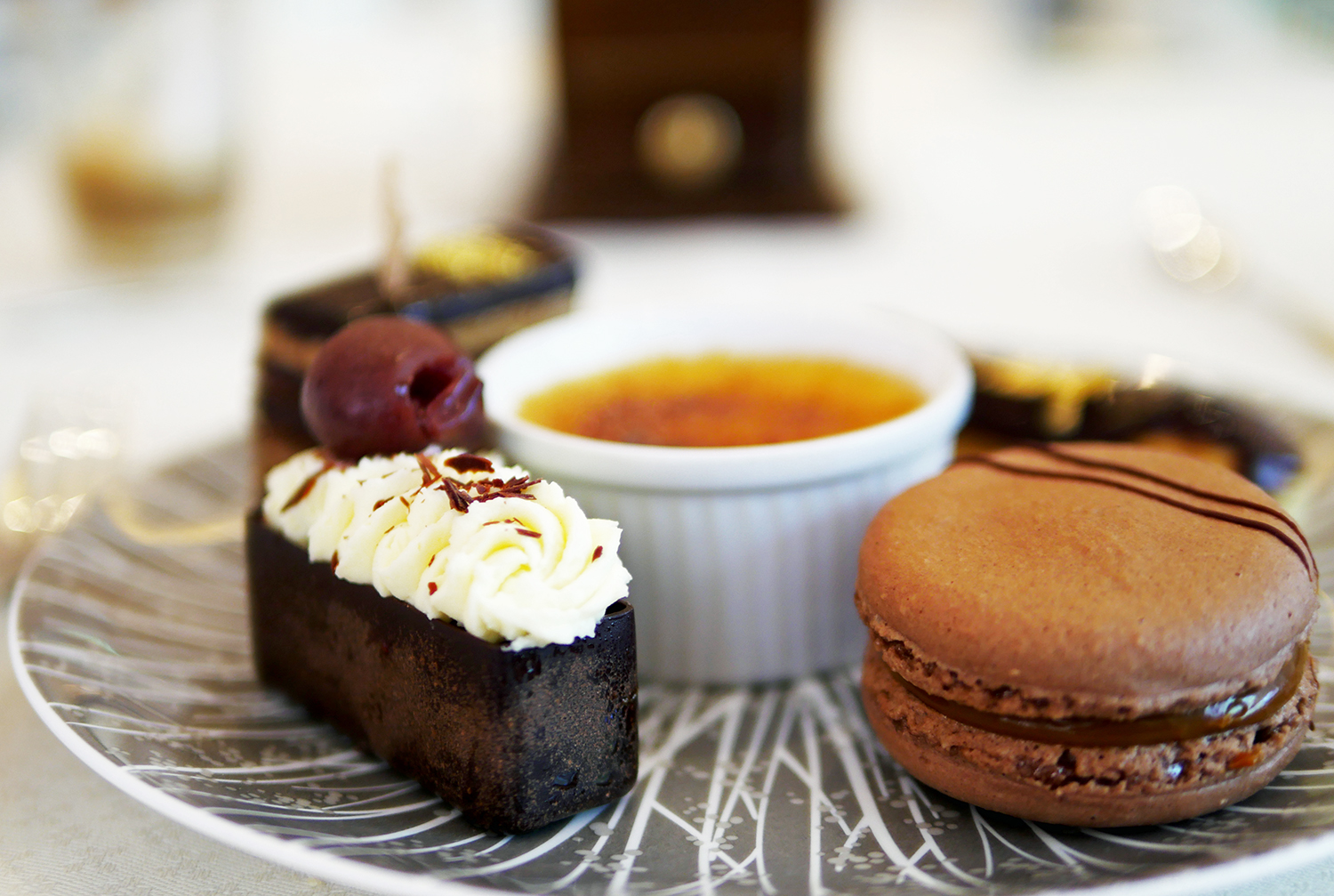 Intercontinental London Park Lane - Black Forest and Macaron - High Coffee