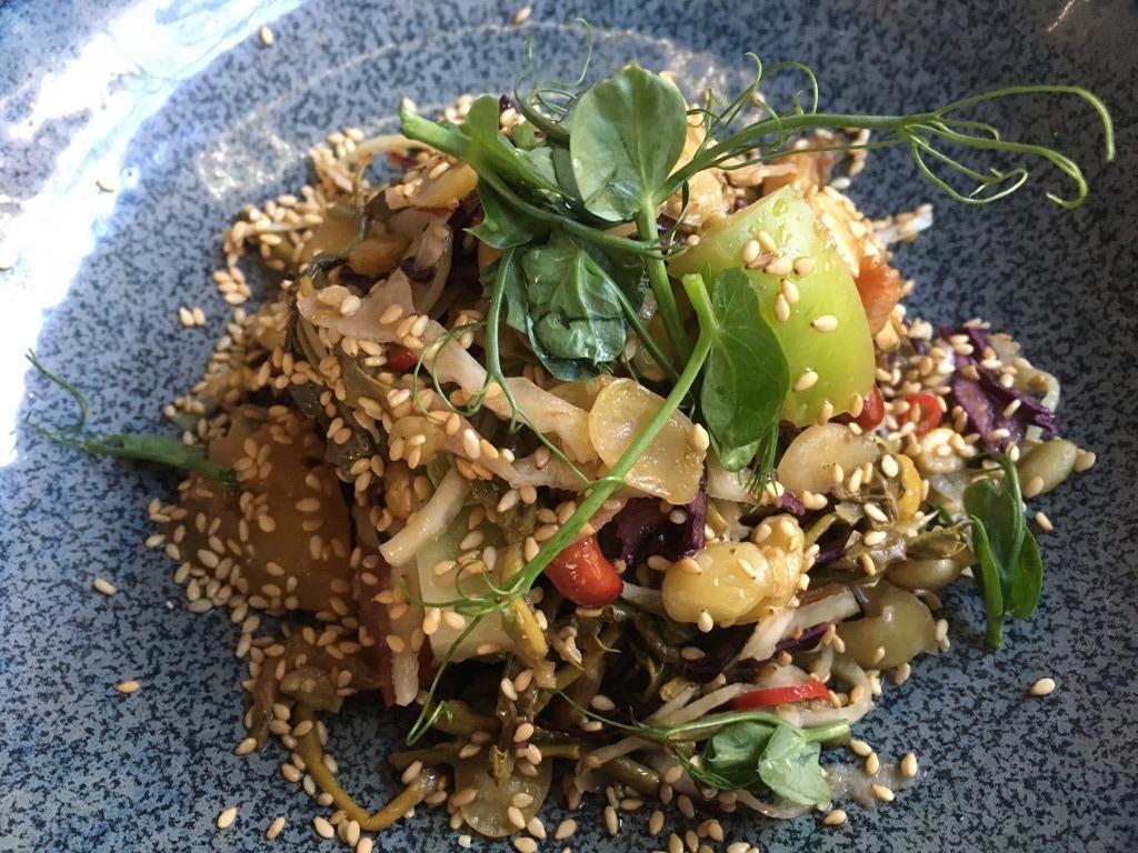 Lahpet salad