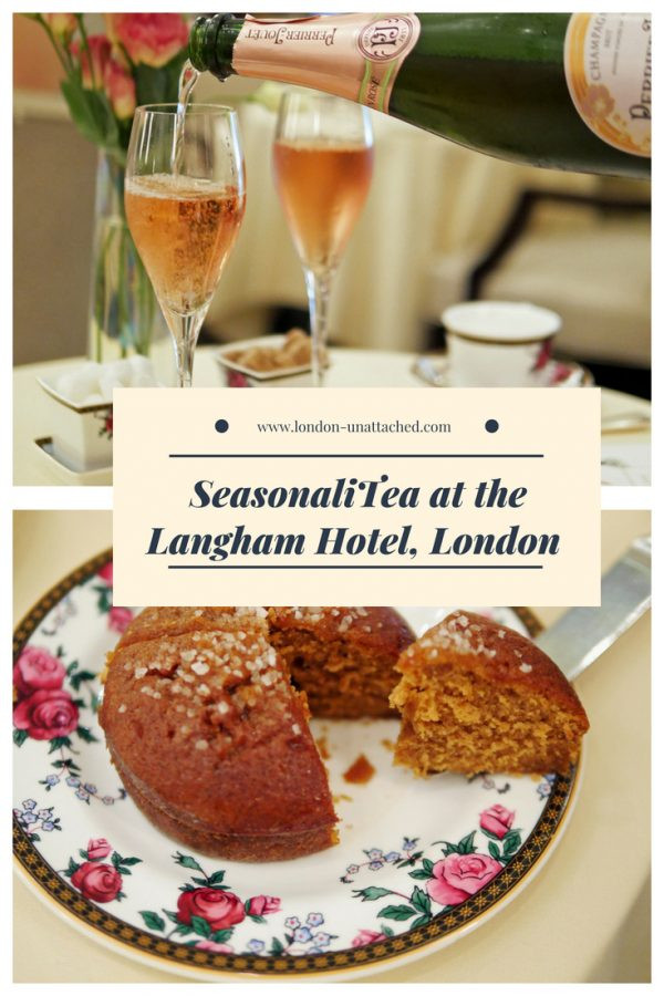 Langham Hotel Afternoon Tea - SeasonaliTea