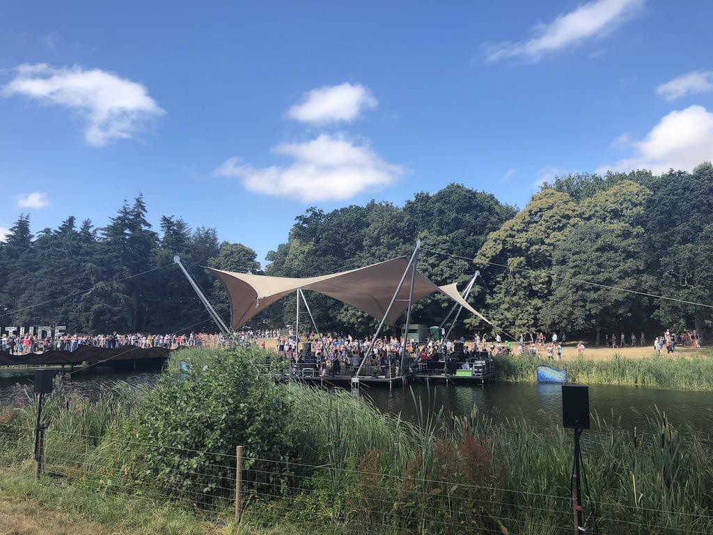 Latitude - Lake stage