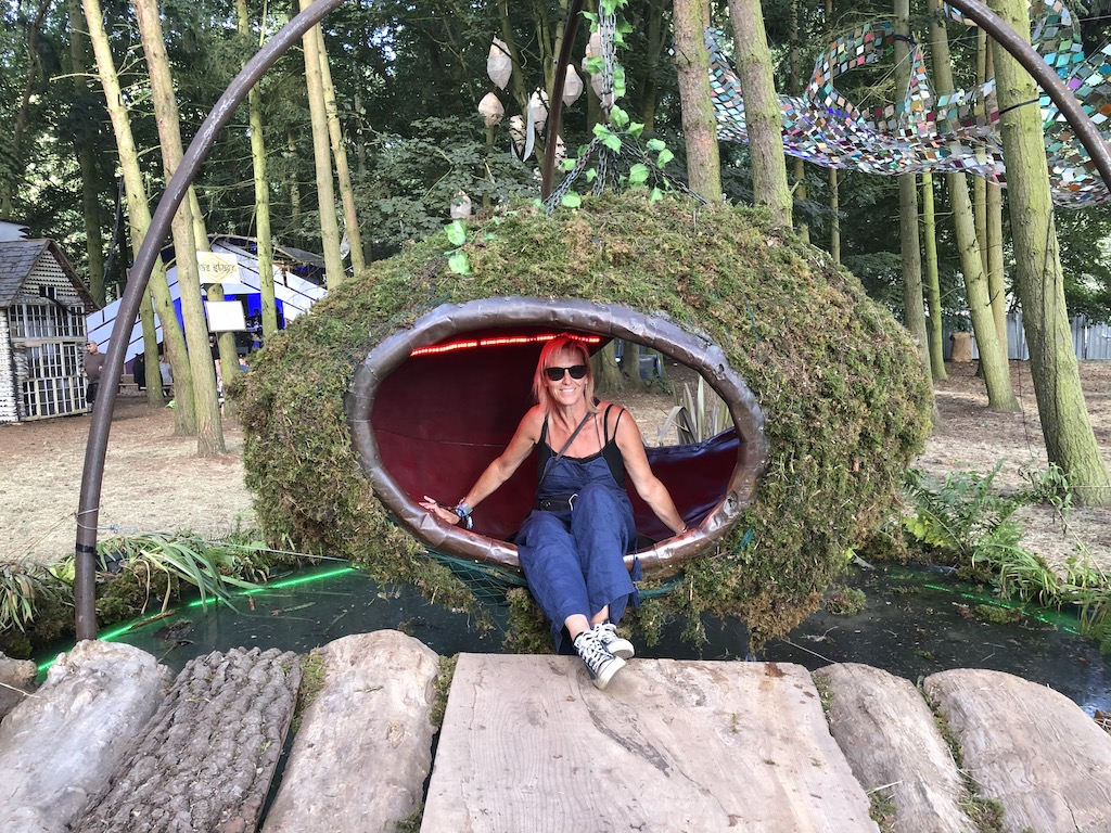 Latitude Lucy in the woods