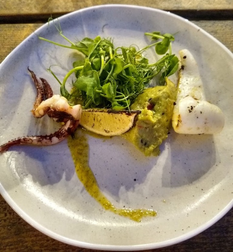 Loire Valley Wines - char grilled squid