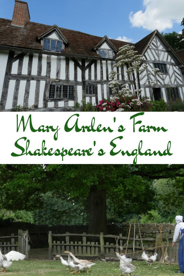 Mary Arden's Farm - Shakespeare's Mother - Stratford upon Avon