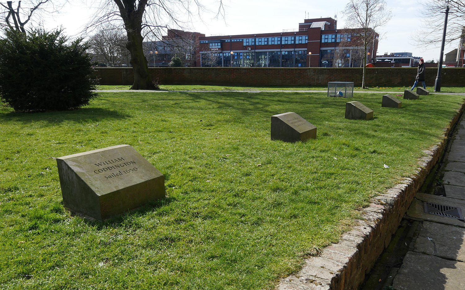 Memorial Stones - Boston Lincolnshire - Mayflower