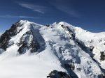 Mont Blanc from Aiguille du Midi Chamonix France
