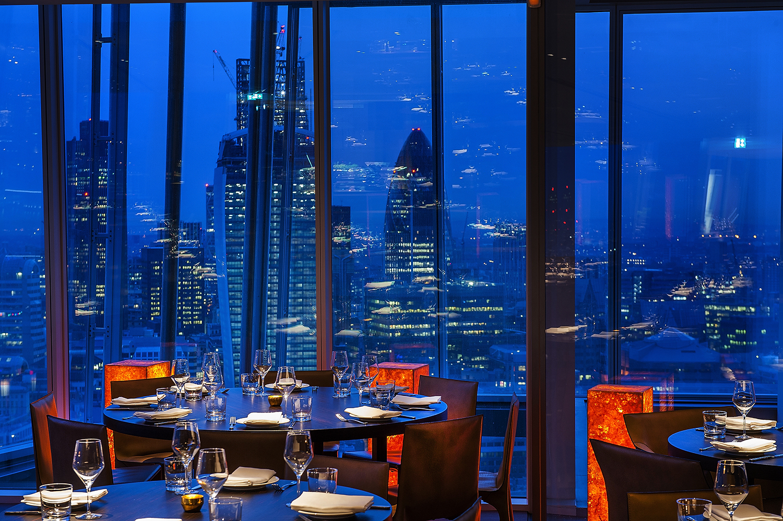 Oblix Restaurant - The Shard, London Copyright - Richard Southall/Ilona Zielinska