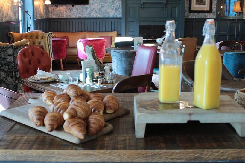 Alexander Pope breakfast pastries