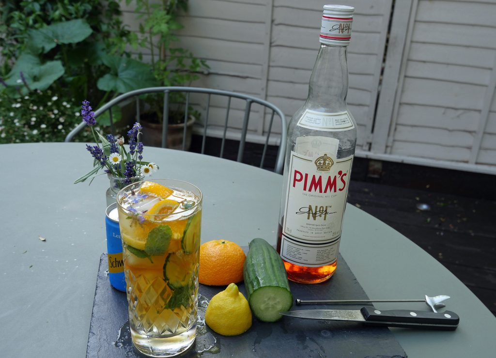 Perfect Pimms Classic recipe