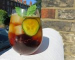 Pimms Spritz in Glass