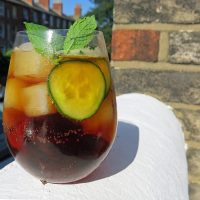Classic Pimm's and Pimm's Spritz Cocktail