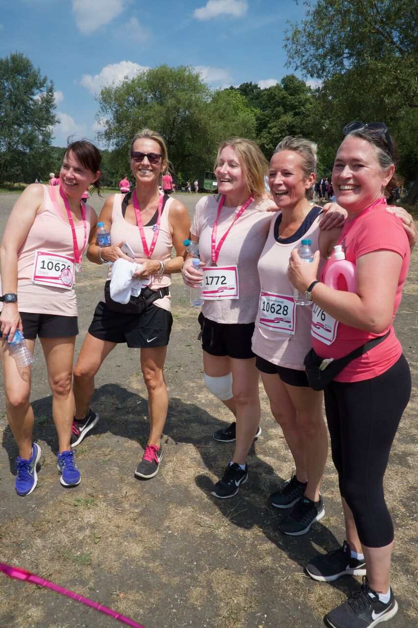 Race for Life - post run