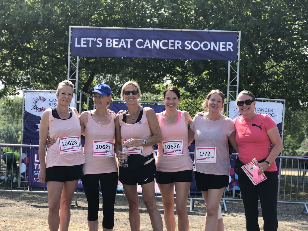 Race for Life team 2018
