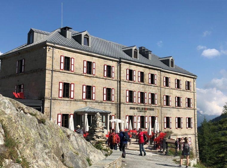 Refuge de Montenvers Chamonix France
