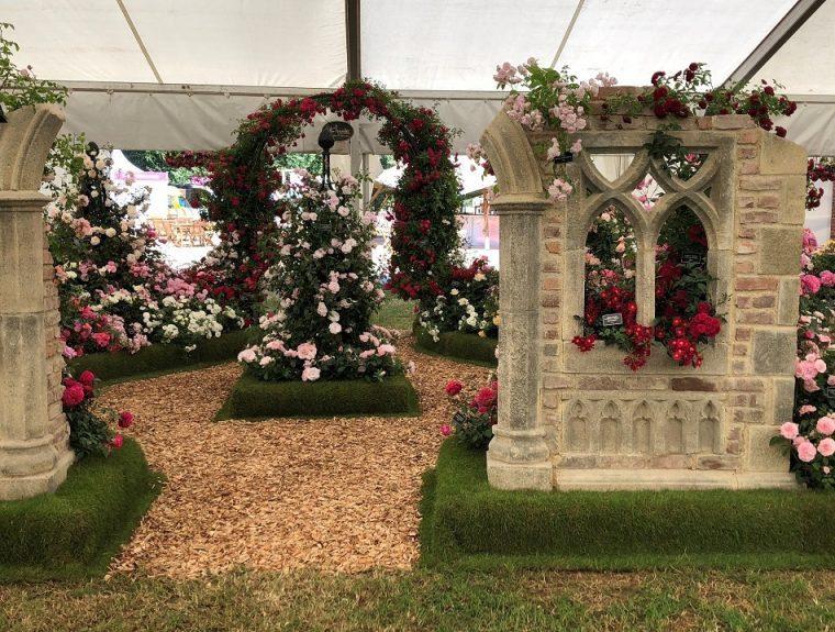 Festival of Roses Tent - Hampton Court Flower Show