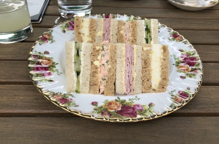 Sandwiches High Tea Angel Abergavenny