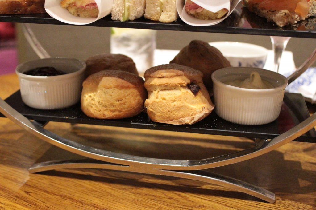 Strand Palace Hotel Afternoon Tea - Scones at Tea at the Palace