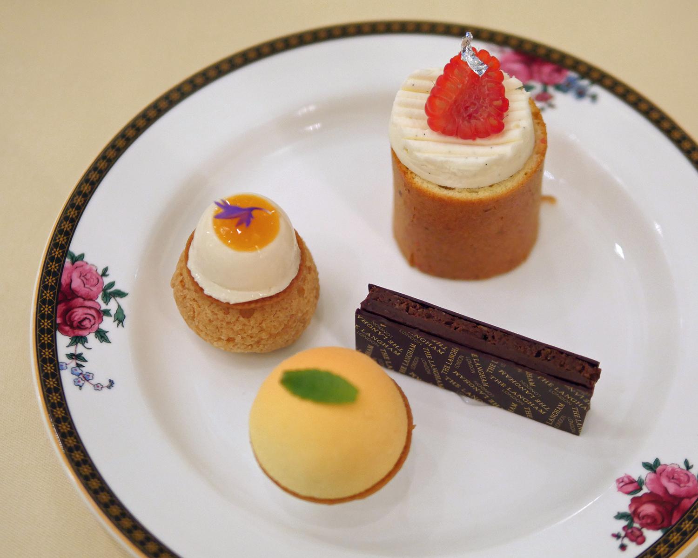Seasonalitea Savoury - Palm Court - Afternoon Tea Langham Hotel