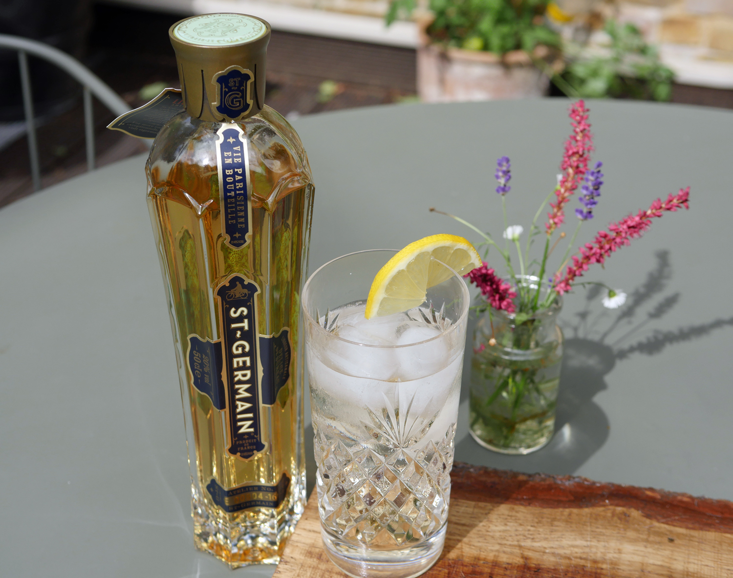 St Germain Spritz Cocktail