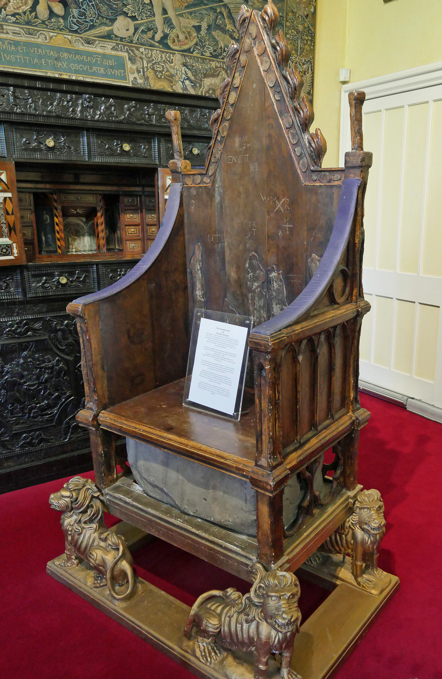 Stone of Scone - Scone Palace
