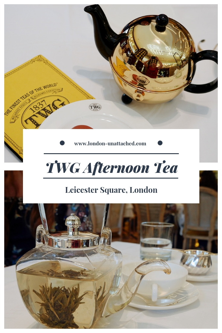TWG Afternoon Tea - Leicester Square London