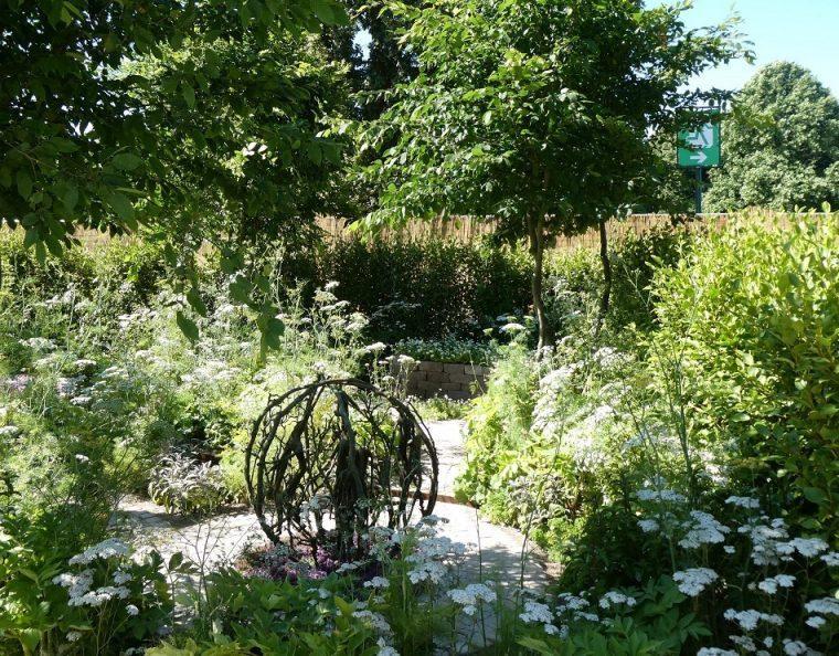The Health & Wellbeing Lifestyle Garden Hampton Court Flower Show