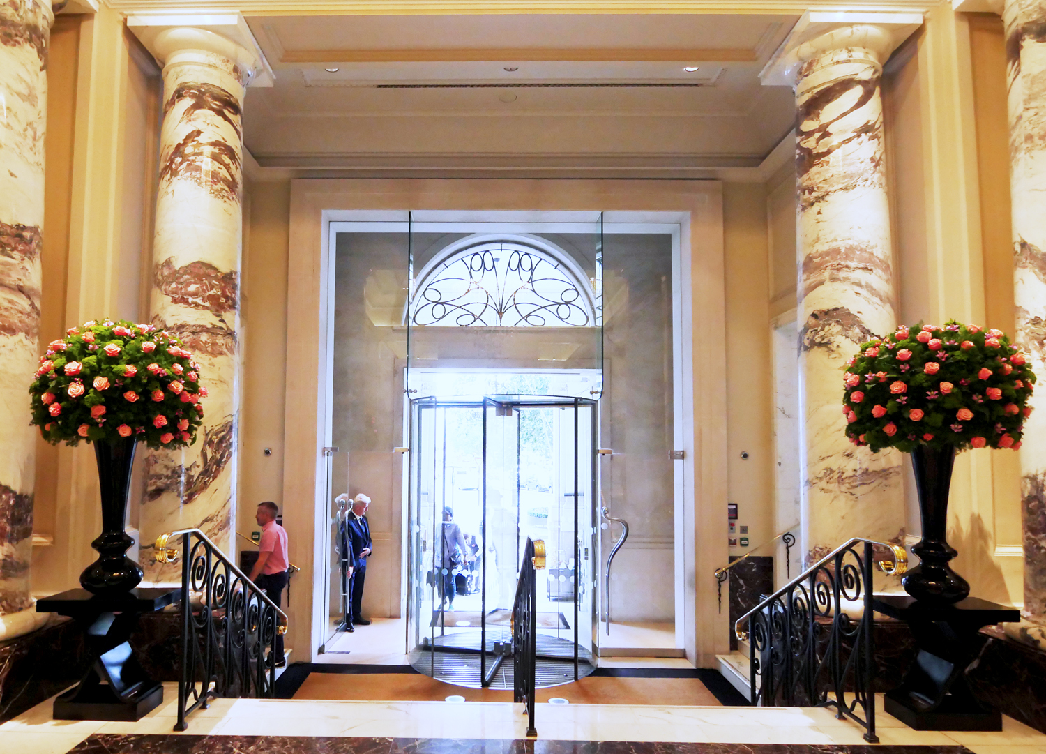 The Langham Hotel London Entrance Lobby