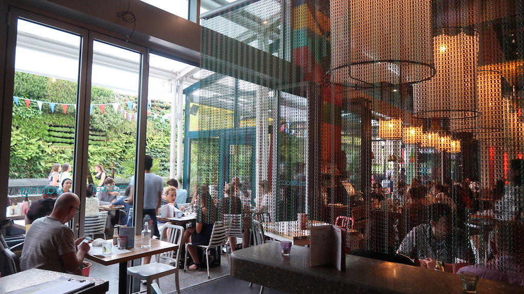 Wahaca White City - restaurant and terrace