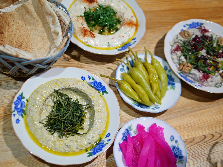 Yalla Yalla - Mezze