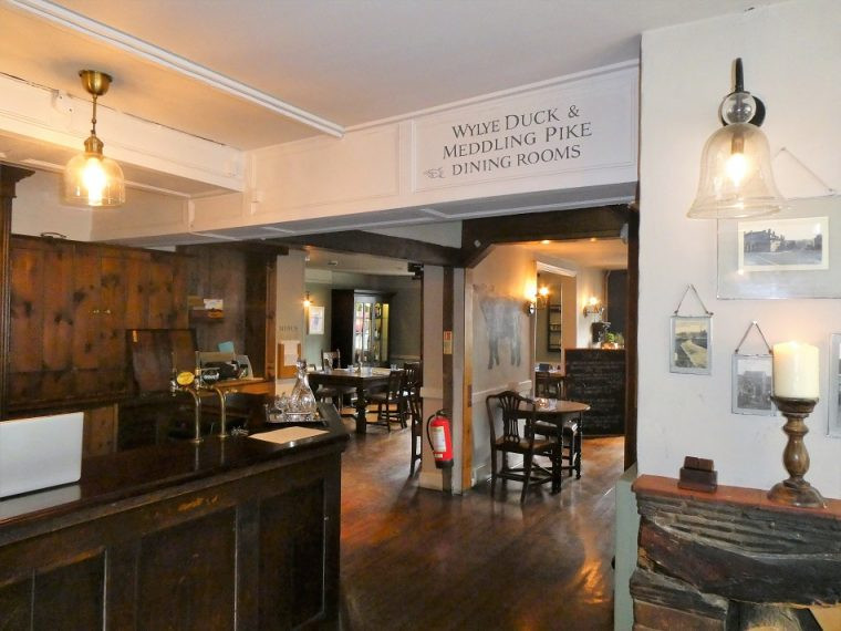 Bar area the Lamb Country Hotel and Pub Hindon Wiltshire
