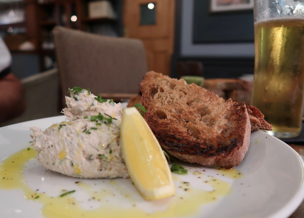 Brook Green Hotel - Mackerel pate