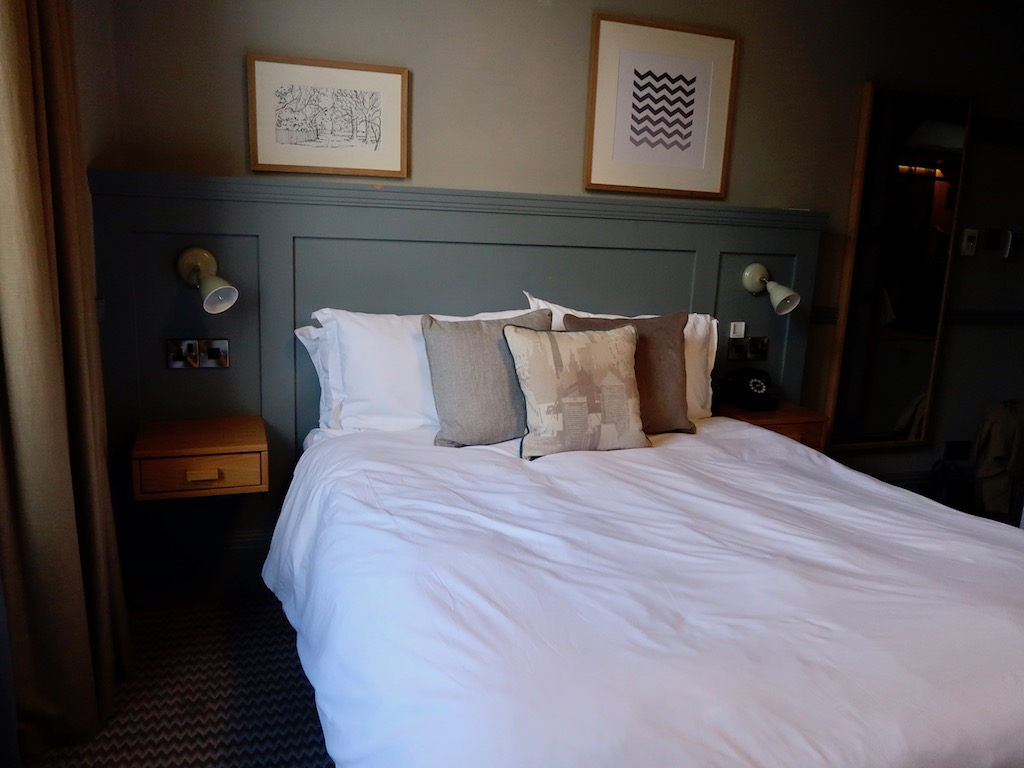 Brook Green Hotel bedroom - boutique hotel in West London