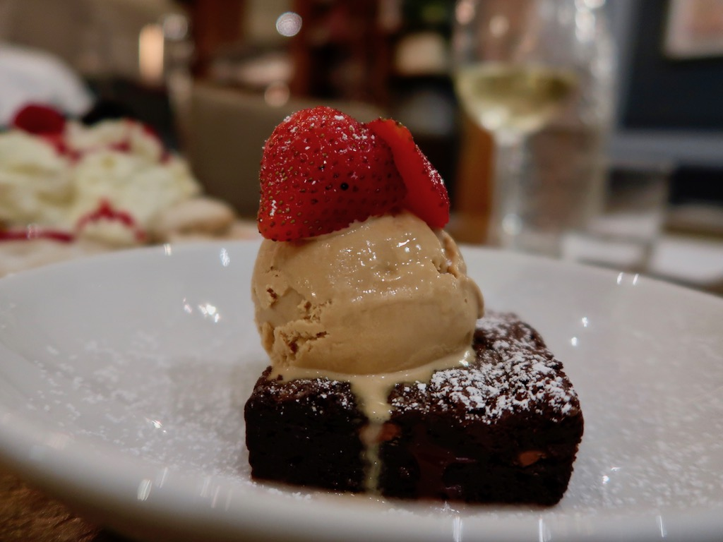 Brook Green Hotel - chocolate brownie