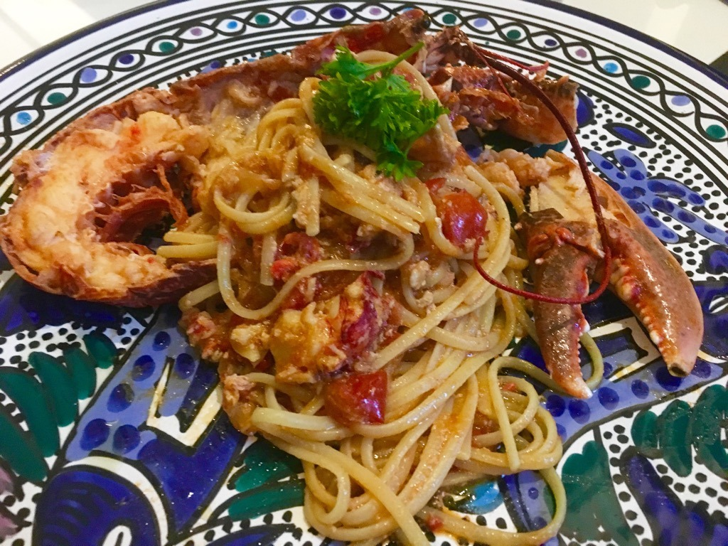 Camillo Benso lobster linguine